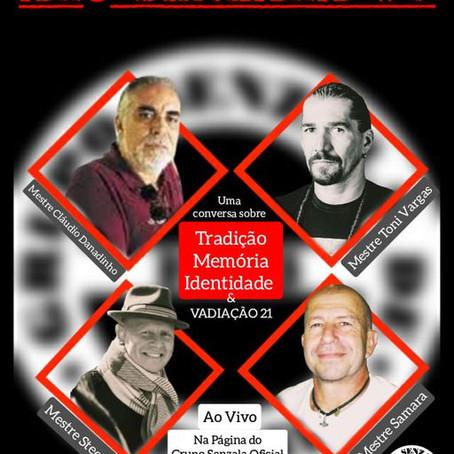 Alô Senzala # 9: Mestre Steen, Mestre Samara e o Mestre Danadinho [en portugais]