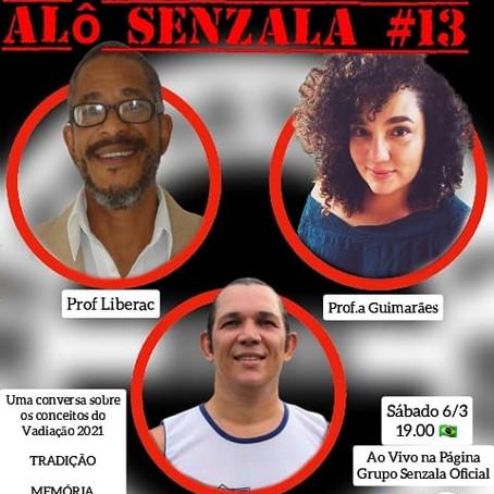 Alô Senzala # 13: Prof Liberac, a Prof.a Larissa Guimarães e o Contramestre Biriba  [en portugais]