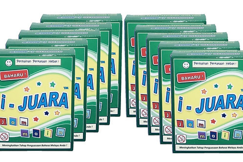 I-JUARA 10 Kotak- 21% Diskaun