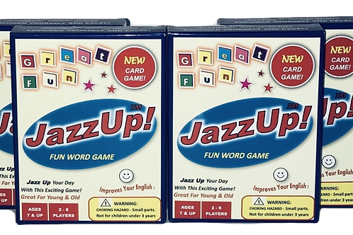 JazzUp! - 4 boxes  at 25 % DISCOUNT
