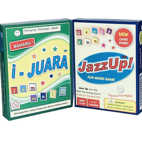 One JazzUp! plus one I-Juara at 26.3% discount