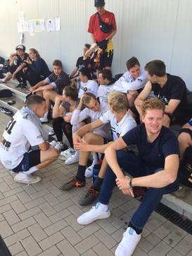 Unsere U20 im Trashtalk mit der U20 Berlin