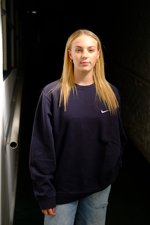 Nike Black Sweatshirt (XL)