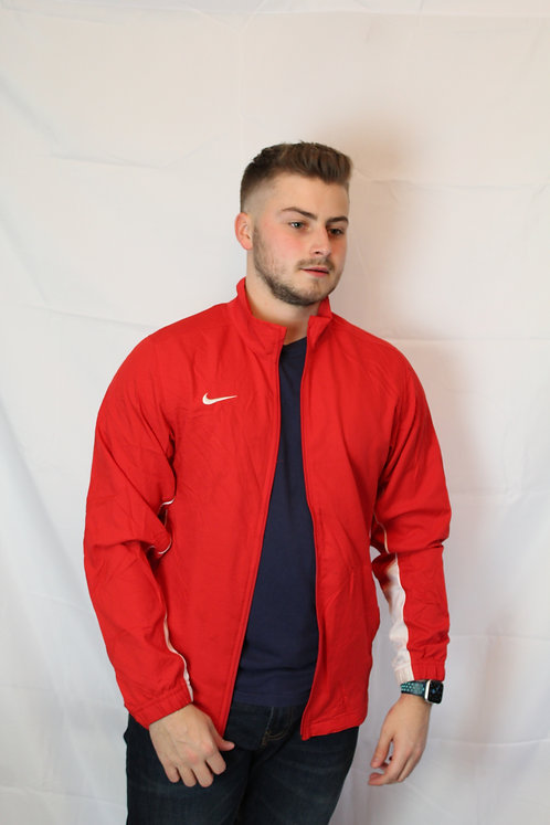 Nike Red Tracksuit Top