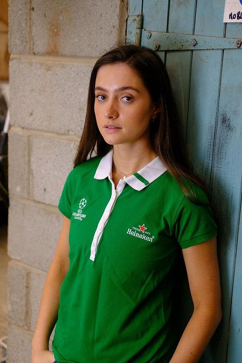 Champions League Green Polo