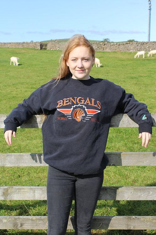 Cincinnati Bengals Black Sweater