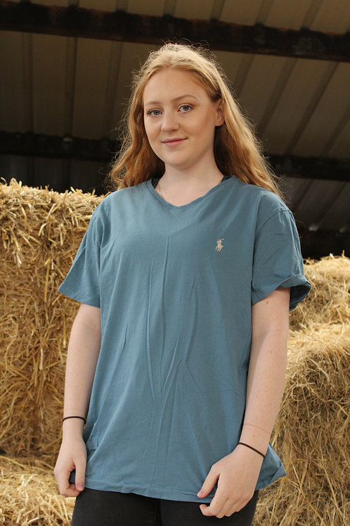Ralph Lauren Blue V-Neck T-Shirt