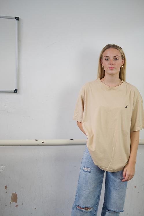 Nautica Beige T-Shirt