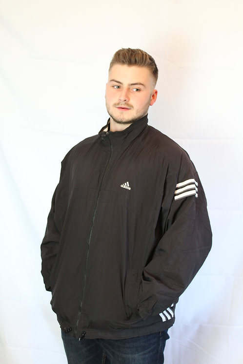 Adidas Black Tracksuit Top