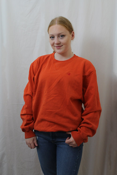 Champion Bright Orange Sweater