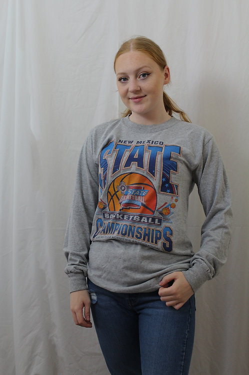 Vintage 'Basketball Championships' Long Sleeved Top