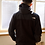 Thumbnail: North Face Black Fleeced Jacket