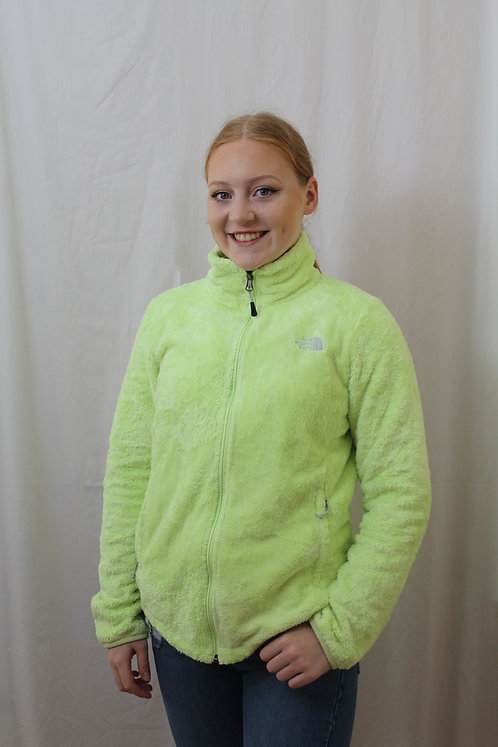 North Face Neon Green Fleece