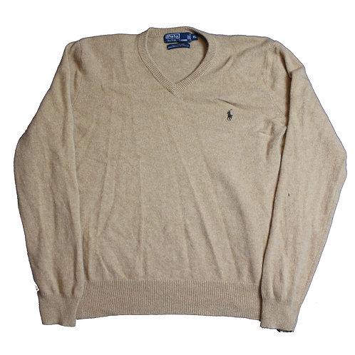 Ralph Lauren Beige Wool Sweater
