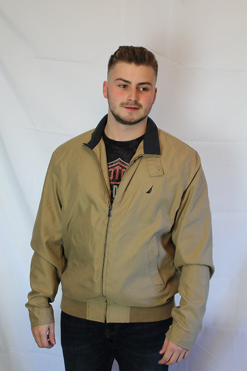 Nautica Beige Harrington Jacket