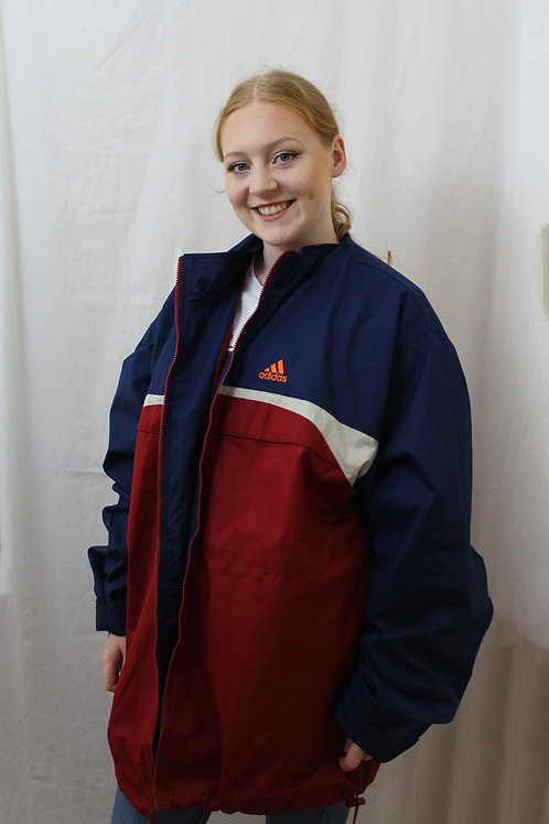 Adidas Blue, White & Red Tracksuit Top
