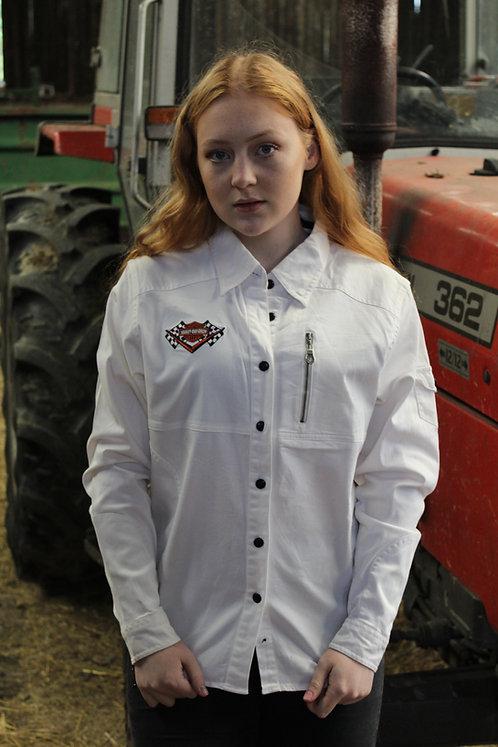 Harley Davidson White Shirt