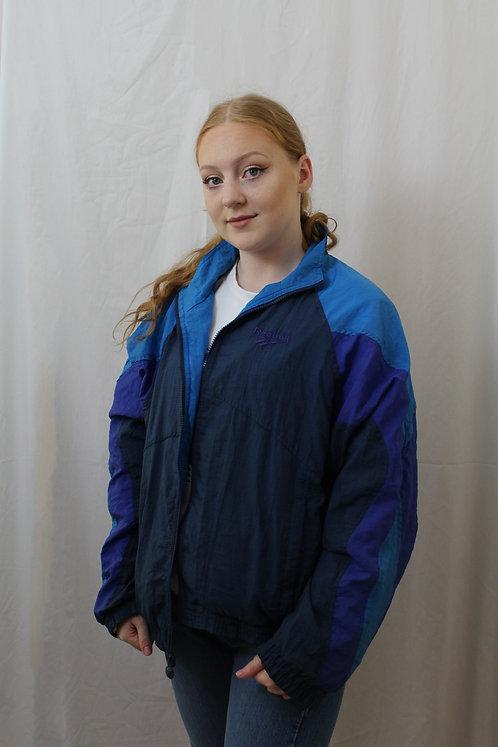 Reebok Navy Shell Suit Jacket