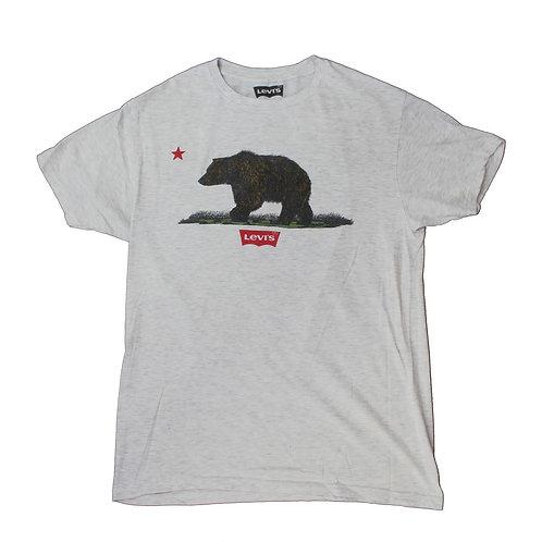 Levis Light Grey Bear T-shirt