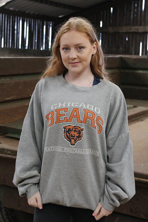 NFL Chicago Bears Grey Sweater