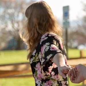 Mary Tron's Engagement Photoshoot