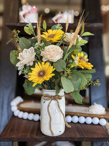 sunflowers and natural roses.jpg
