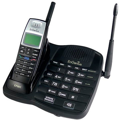 EnGenius EP801 Cordless Phone & Base Station