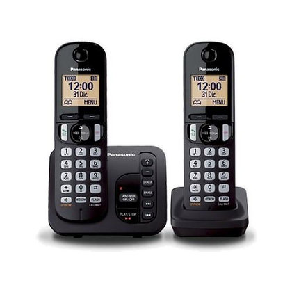 Panasonic KX-TGC222 Cordless Phone (Twin)