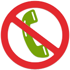 Call restriction icon