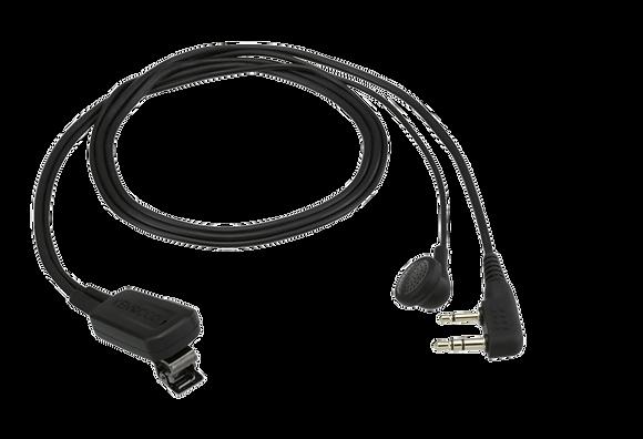 Kenwood EMC-11 lapel speaker/mic with earbud