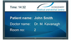 Patient call system allows you to call patients forward