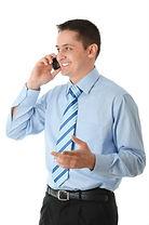 Teacher on cordless phone