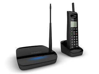 EnGenius EP802 handset and base unit