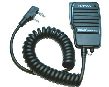 Kenwood SMC-32 lapel speaker/mi
