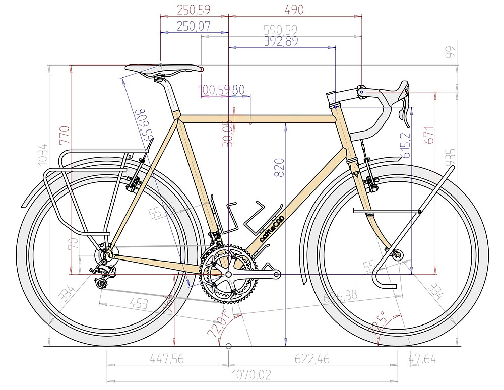 650B Fast Tourer Build Final Draft