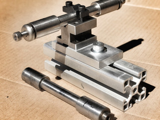Ketelaar Frame Jig - Dummy Axle Holder