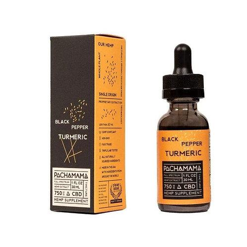 Oil Black Pepper Turmeric Detox