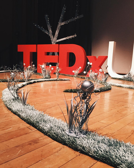 TedXTalk Stage Design