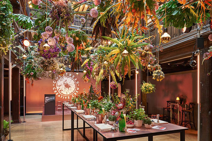 Floral Installation - Liberty of London