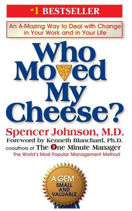 Lessons Learned from Book: Who Moved My Cheese ~ Spencer Johnson.