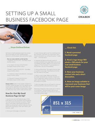 Small Business Start Up Handout
