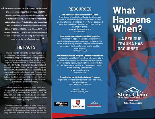 Steri-Clean New Brochure Concept