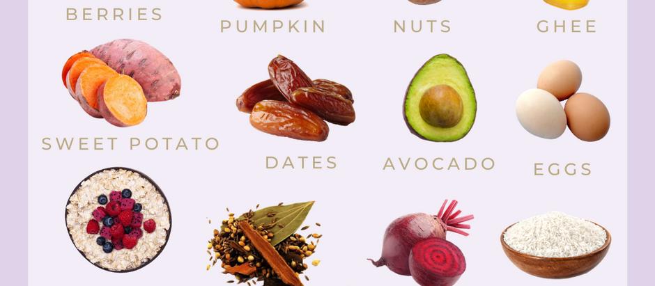 Vata Balancing Foods