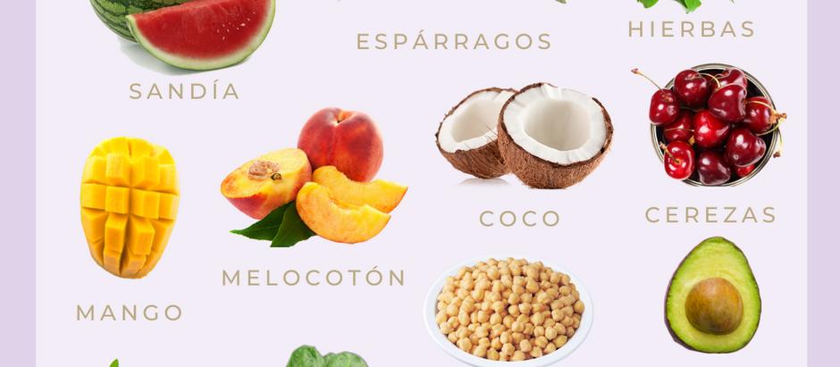 Alimentos para equilibrar Pitta