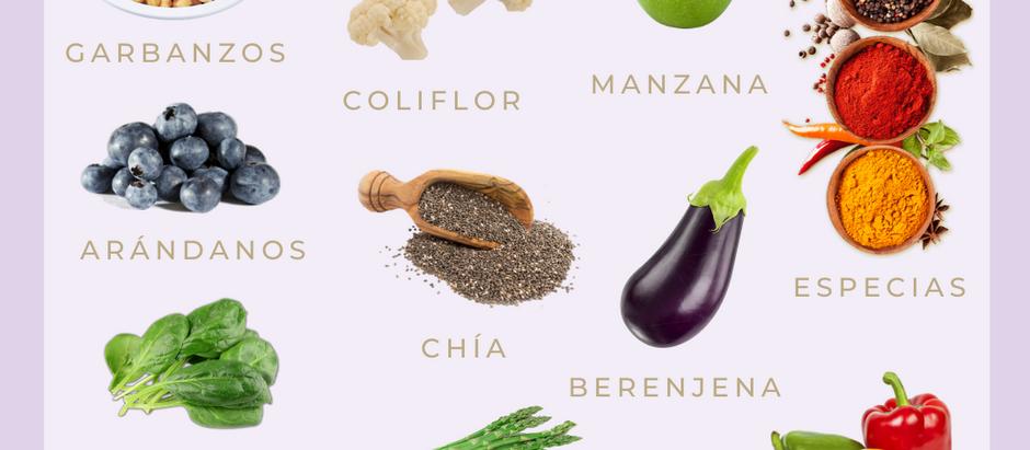 Alimentos para equilibrar Kapha