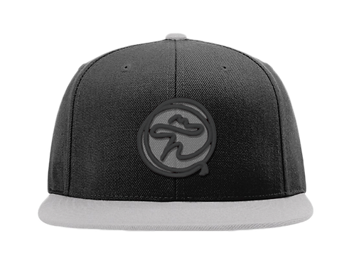 SILVER AND BLACK ROPE FLATBILL