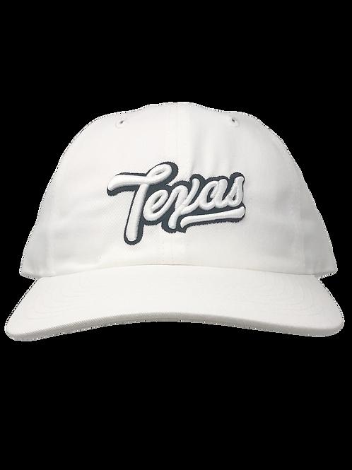 """White Texas """"Dad"""" Hat"""