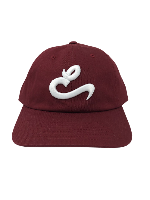 "Maroon E ""Dad"" Hat"