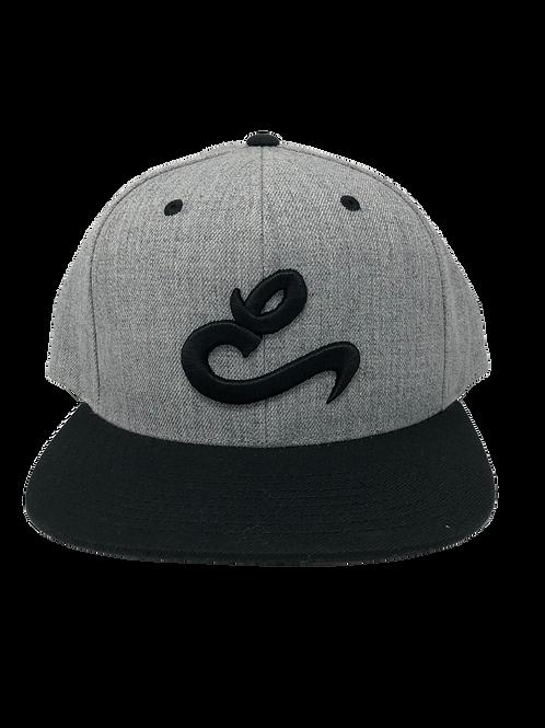 Grey E Snapback