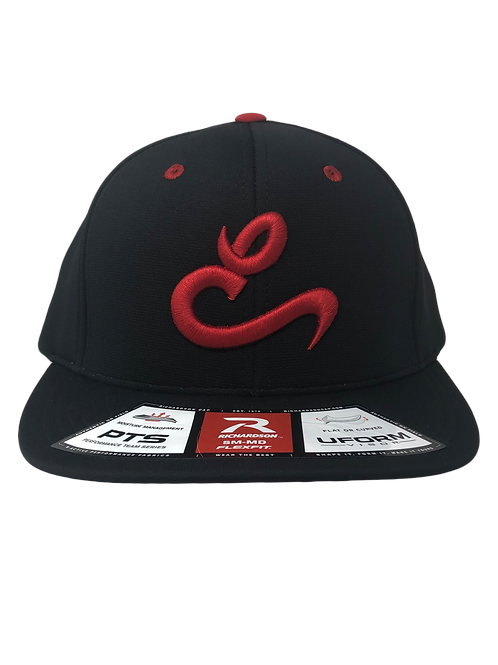 Red E Black Game Hat